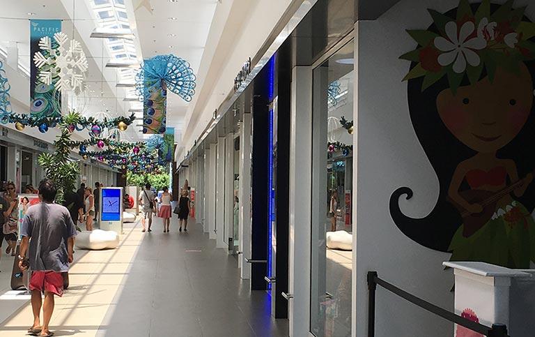Centre commercial Pacific Plaza Tahiti Polynésie Française