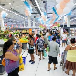 Ouverture de Carrefour Auae