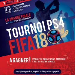 Tournoi PS4 FIFA 18