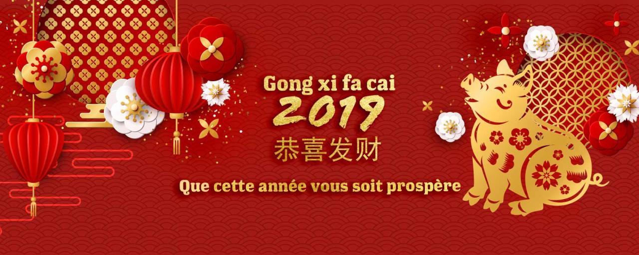 Pacific Plaza fête avec vous le nouvel an chinois 2019