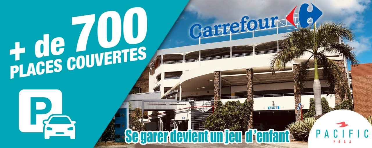 Plus de 700 place de parking