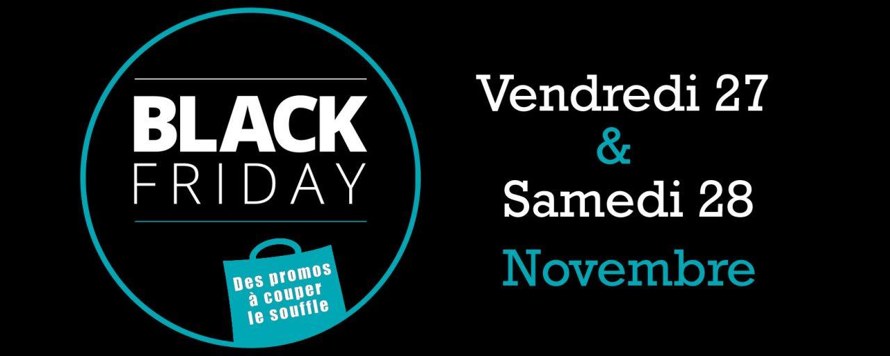 Black Friday dans votre Pacific Center